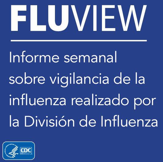 FluView es un informe semanal sobre vigilancia de la influenza realizado por la División de Influenza