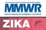 Botón de MMWR de CDC sobre el zika