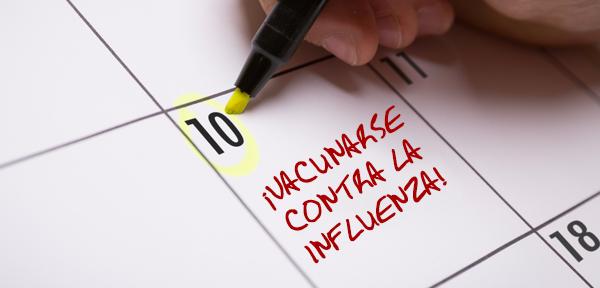 Todas las personas mayores de 6 meses deberían vacunarse todos los años contra la influenza.