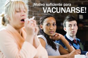 ¡Razón suficiente para vacunarse!