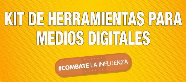 Kit de herramientas para medios digitales - #CombateLaInfluenza